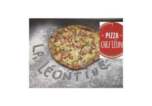 la pizza du moment la léontine