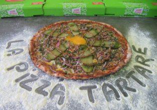 La pizza tartare