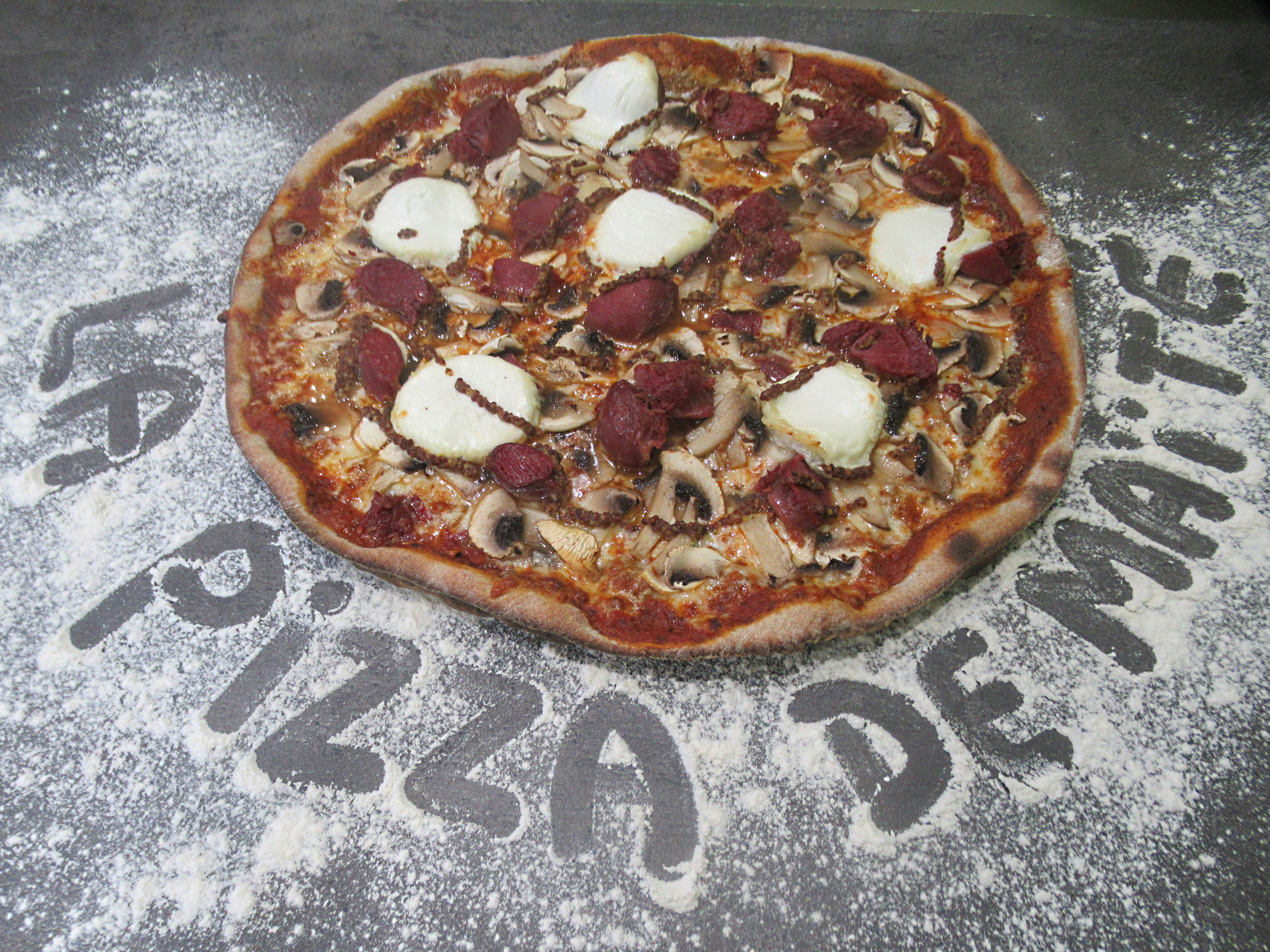 La pizza du moment