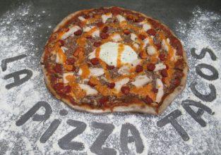 La pizza tacos